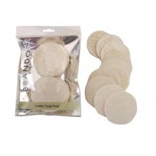 3101 - Loofah Face Tissues, 10/Bag