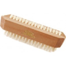 3252 - 100% Natural Boar Bristle Double Sided Nail Brush
