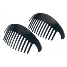 41150 - RAZOR SIDE COMB BLACK 2/CD