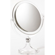 M686 - 7X & Normal Vanity Mirror, Clear, 5 1/4