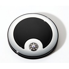 M763 - 5X & Normal View Rhinestone Compact Mirror