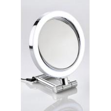 M824 - 10X & Normal Lightd Hand/vanity Mirror