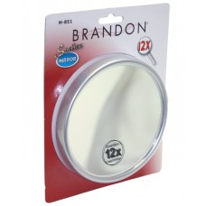 M-851 UPC 048854008513 12X Mag. Suction Cup Mirror 5 inches