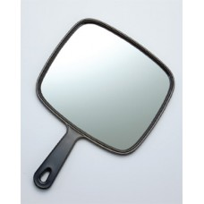 7103 - 1X Large Tv Mirror, Black